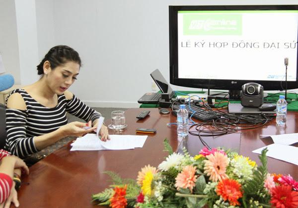 Lâm Chi Khanh làm đại sứ game mới của VTC Online 1