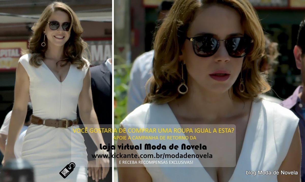 moda da novela Império, look da Cristina dia 26 de fevereiro de 2015