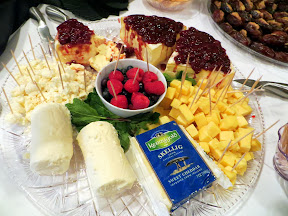 Taste of Zupan's- Fromager d'Affinois with Dalmatia Sour Cherry Spread and Kerrygold Skellig, Laura Chenel's Blossom Honey Chevre Log with 34