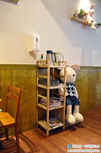 豆子咖啡櫃架
