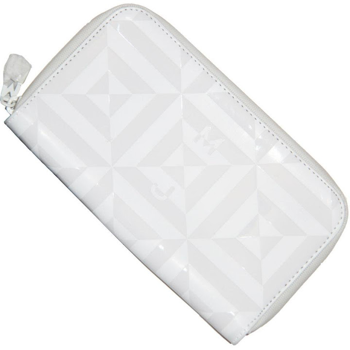 Marc by Marc Jacobs Rubix Long Wallet White Tonal