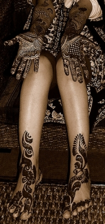 Celebrity Tattoos Mehndi Designs Full Body Art Mehndi Design