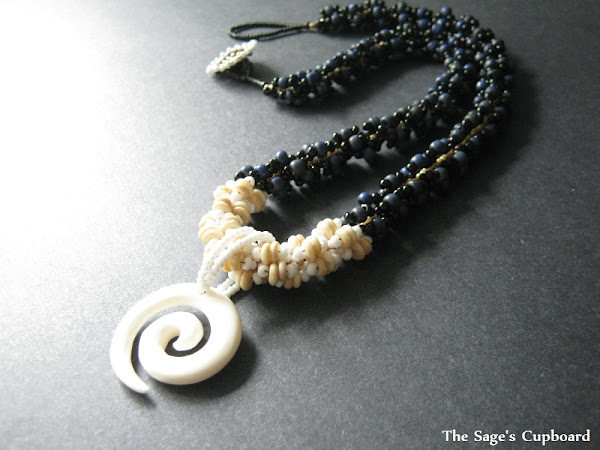 Apis the Bull Spiral Necklace