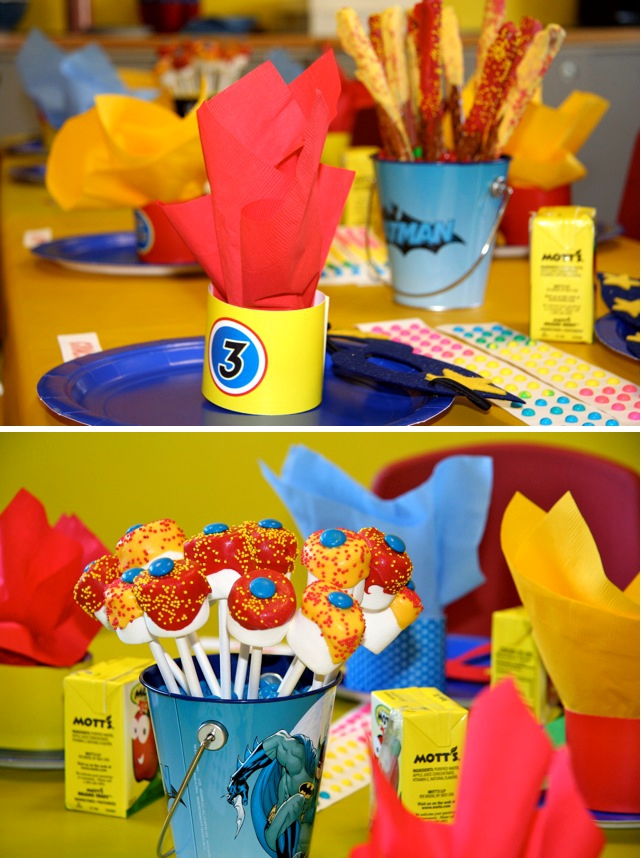 Kid's Birthday Party Ideas Fit For A Superhero!   Excellent