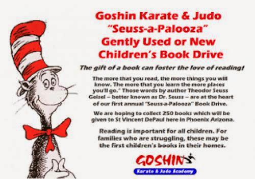 Karate Kids In Phoenix Support Childrens Book Drive