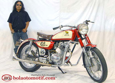 Modifikasi Honda CB 100 Jadul_6