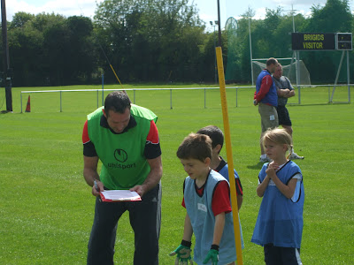 Adrian Murphy coaching at the Cul Redz