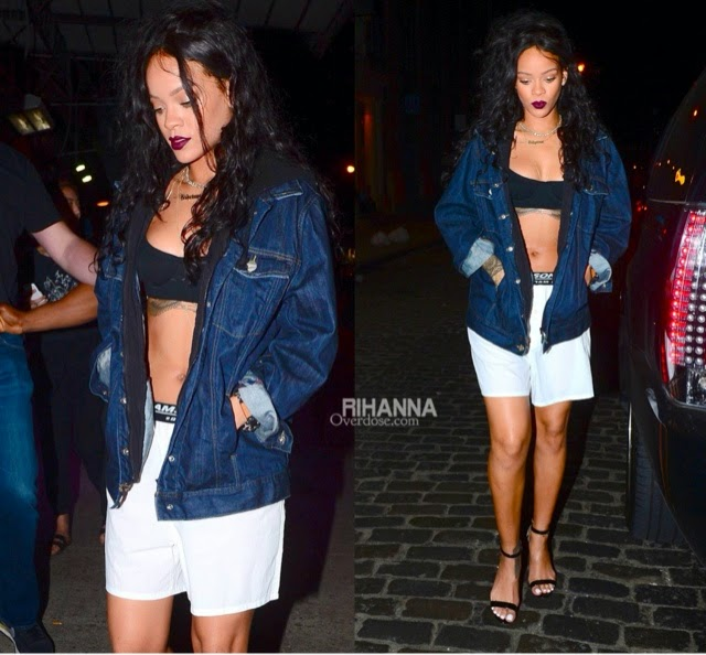 Rihanna in Rihanna for River Island, Shaun Samson