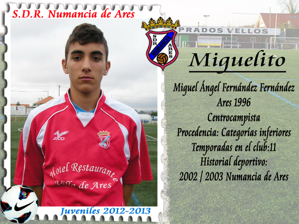 ADR Numancia de Ares. Miguelito.