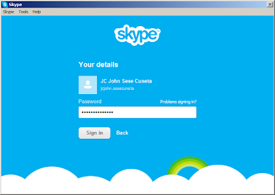 Merge WLM/MSN Messenger with Skype: Step 5