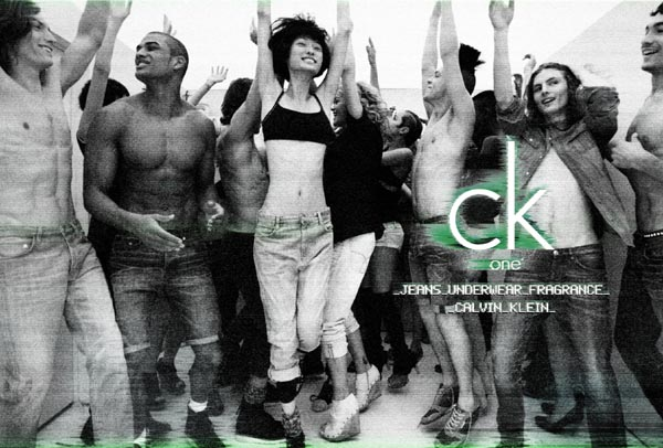 New xo – ck one Campaign