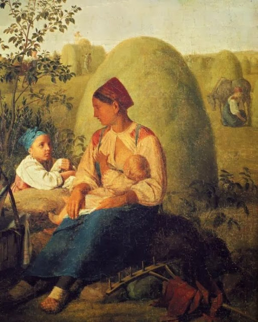 Alexei Venetsianov - Harvesting