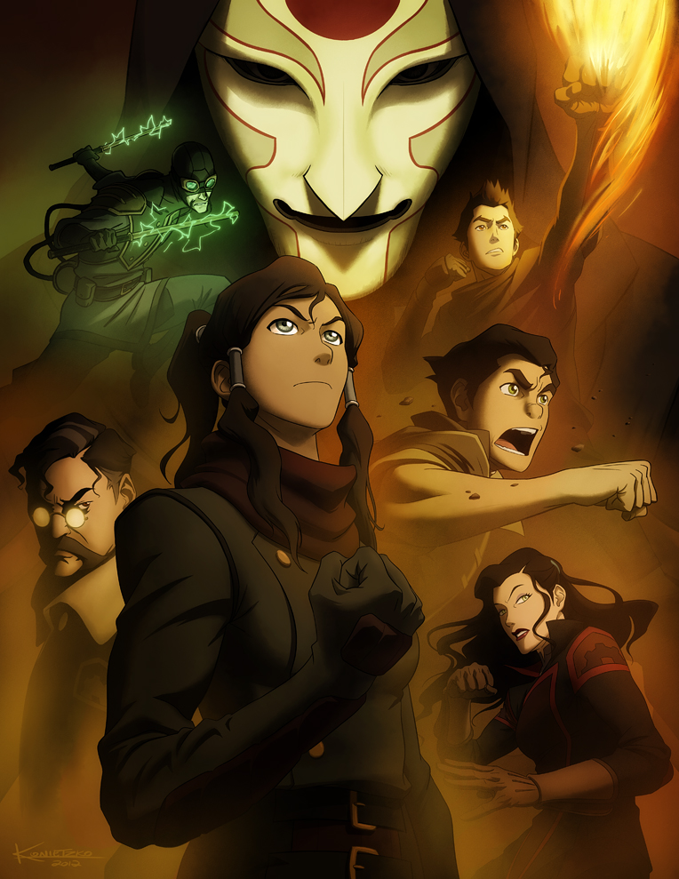 Finale press art The Legend of Korra