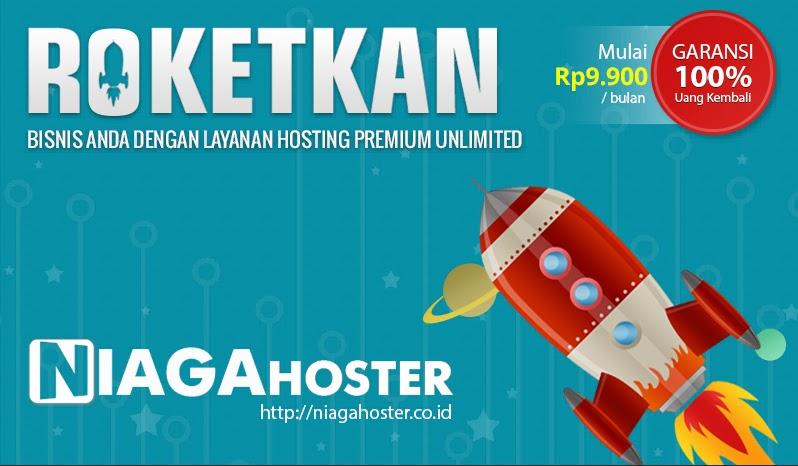 Niagahoster merupakan grup Hostinger yang memberikan layanan web hosting murah, unlimited, handal dan pelayanan terbaik untuk semua pelanggannya