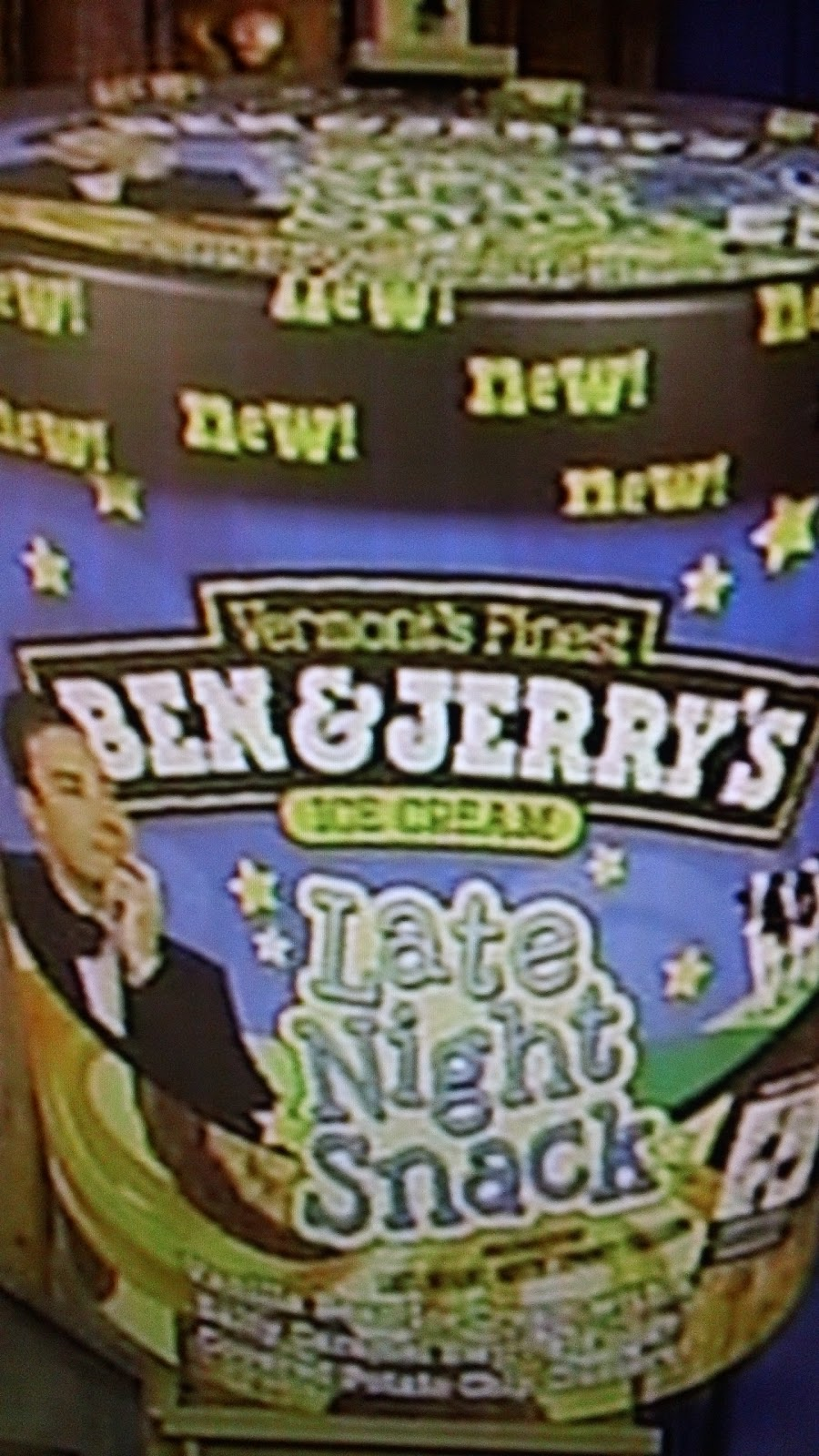Late Night Snack ice cream named after Jimmy Fallon's Late Night with ...