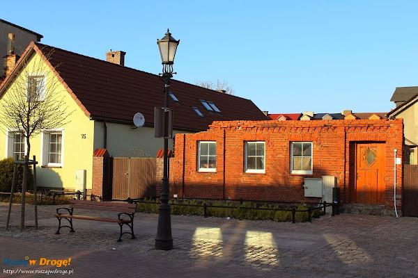 Łeba - budynek bez dachu