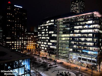Montreal. Downtown. Noaptea