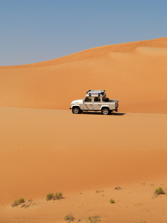 Al Khatim with Land Rover