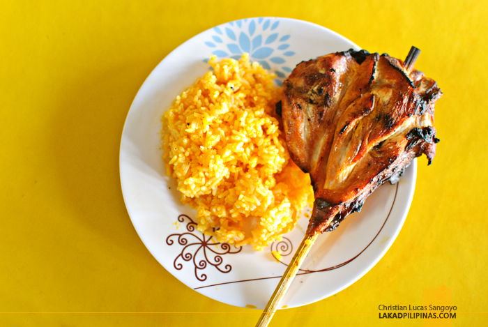 Chicken Inasal with Java Rice at Bacolod's Manokan Country