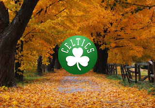 Boston Celtics Logo Wallpapers Autumn Trees background