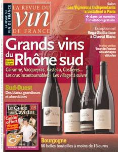 La revue du vin de France n°526