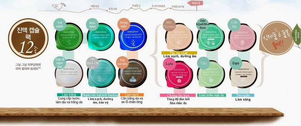 UPDATE LIEN TUC TONG HOP DU LOAI SAMPLE THE FACE SHOP ETUDE HOUSE INNISFREE TONYMOLY CHIA SEED