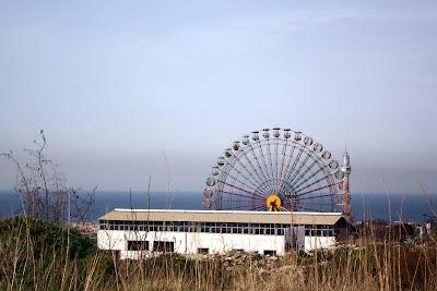Ferris wheel in Luna Park in Beirut Lebanon