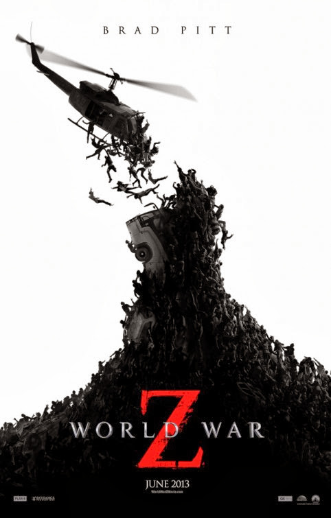 Poster Of English Movie World War Z (2013) Free Download Full New Hollywood Movie Watch Online At Alldownloads4u.Com