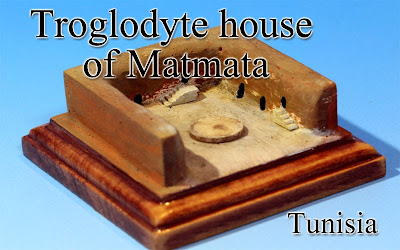Troglodyte house of Matmata ‐Tunizia‐
