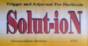 Trigger and Adjuvant for Herbicide Solut-ion