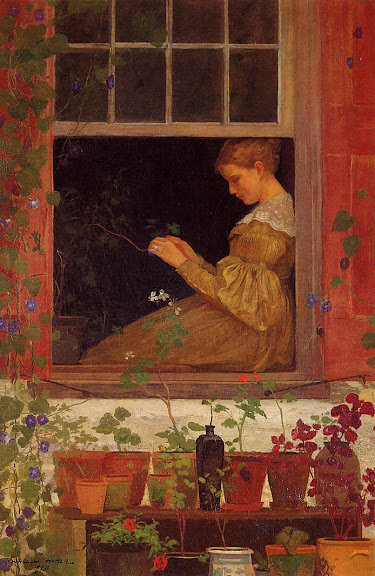 Winslow Homer - Morning Glories (1873)