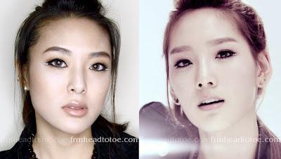 Cara Menata Rambut Taeyeon SNSD