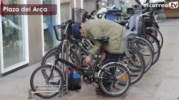 Cómo quedarte sin bici en apenas un minuto