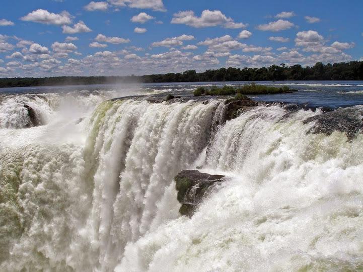 Paseo superior cataratas Iguazu, lado argentino