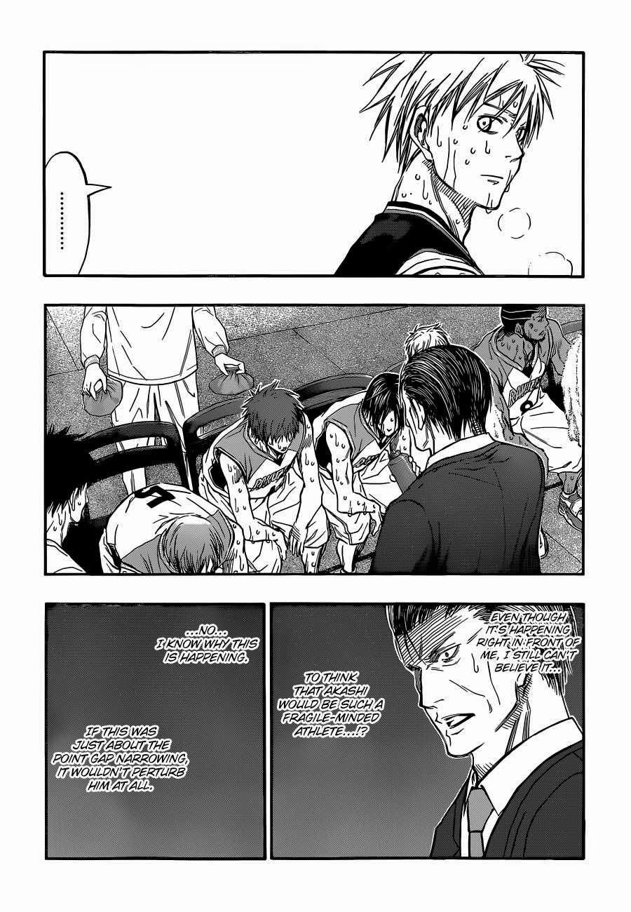 Kuroko no Basket Manga Chapter 266 - Image 02