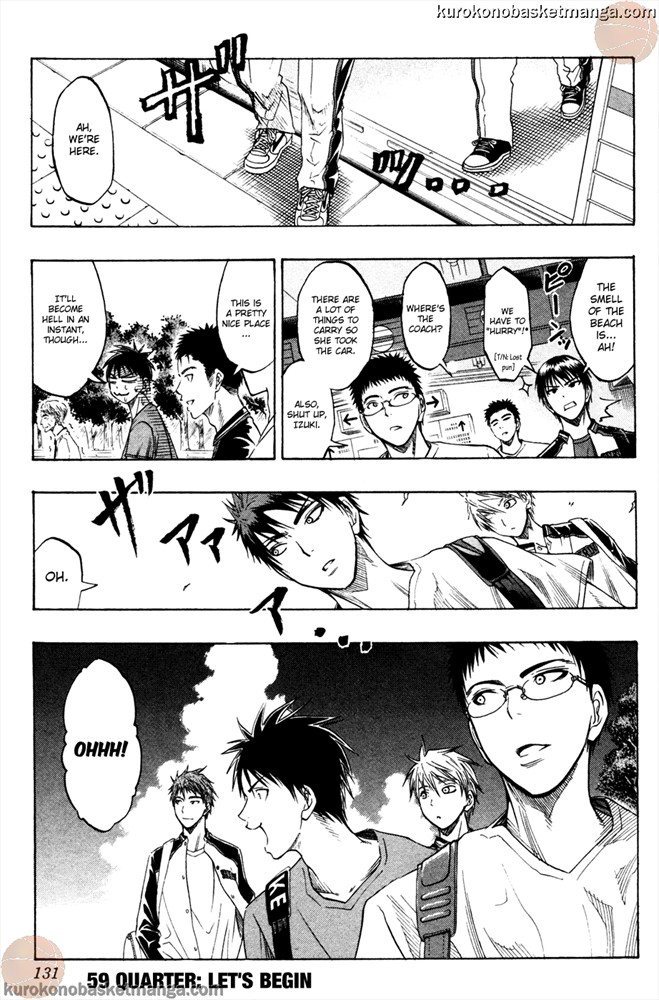 Kuroko no Basket Manga Chapter 59 - Image /0001