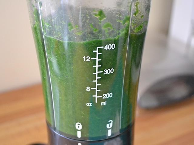 blend spinach