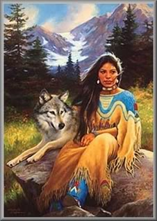 La Loba The Woman Wolf Image