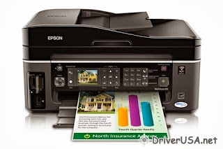 download Epson WorkForce 615 printer's driver