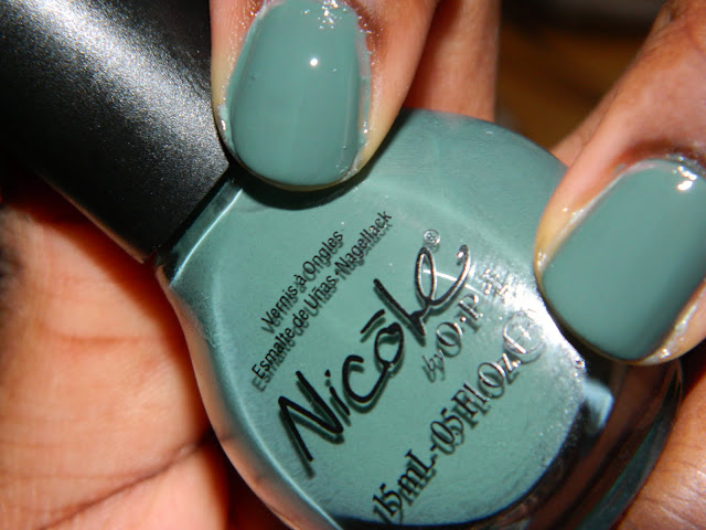 Nicole By OPI in Green Up Your Act