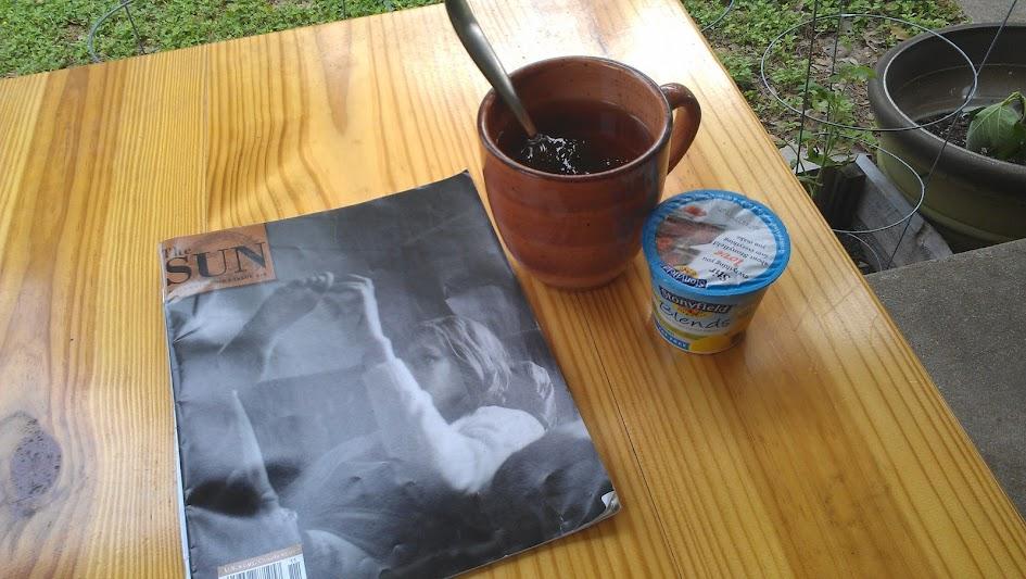Tea for breakfast