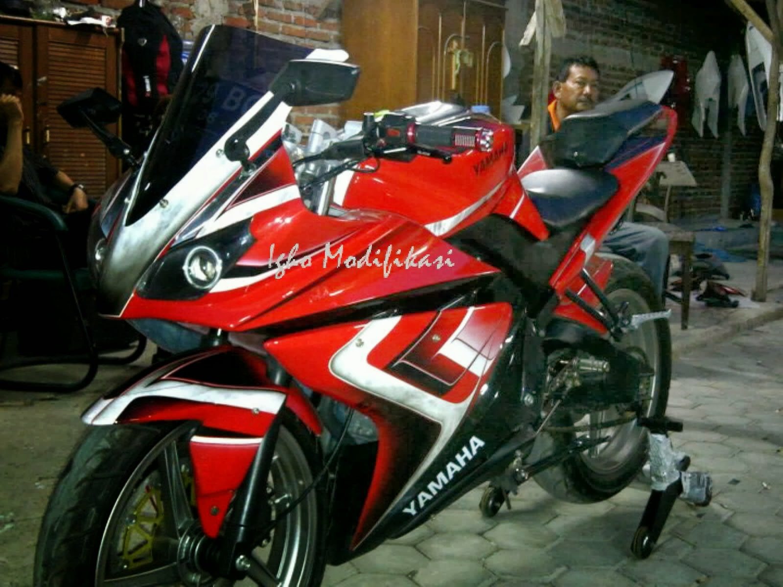 Modifikasi New Vixion Lightning Simple