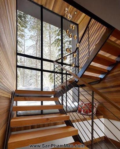 Mẹo thiết kế tủ cầu thang hữu ích - Tủ âm tường gỗ-8