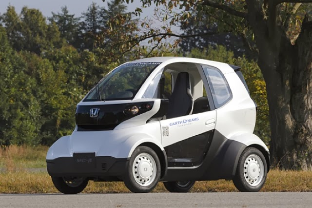 Honda s MC beta a two seater tiny Electric Car