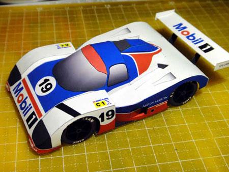 Aston Martin AMR1 Papercraft