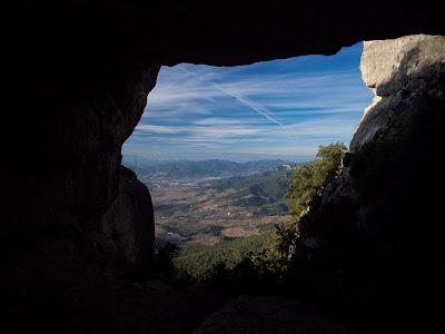 Cova Longa, despr�s del Grau de la Trencanous