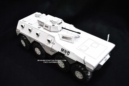 District 9 Papercraft MNU APC