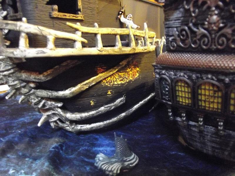 Mega Bloks Pyrates Dread Eyes Phantom Ship Replacement Piece Part Boat Cannon