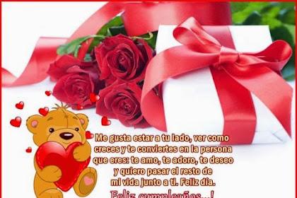 Frases De Feliz Cumpleanos Amor Mio