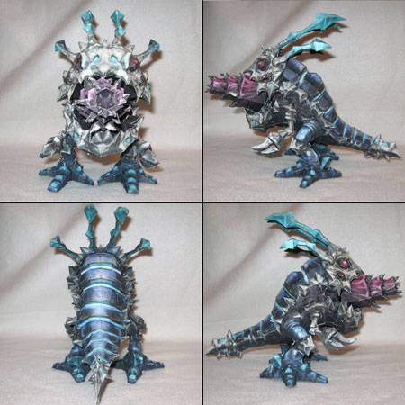 League of Legends Kog'Maw the Mouth of the Abyss Papercraft